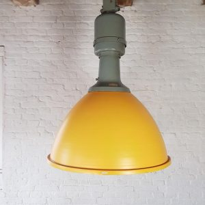 industrial lamp XXl geel